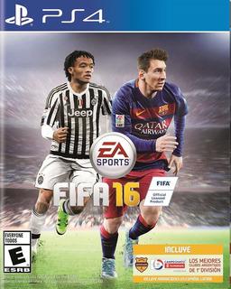 Fifa 16 - Ps4 - Juego Fisico Nuevo Sellado Y Original