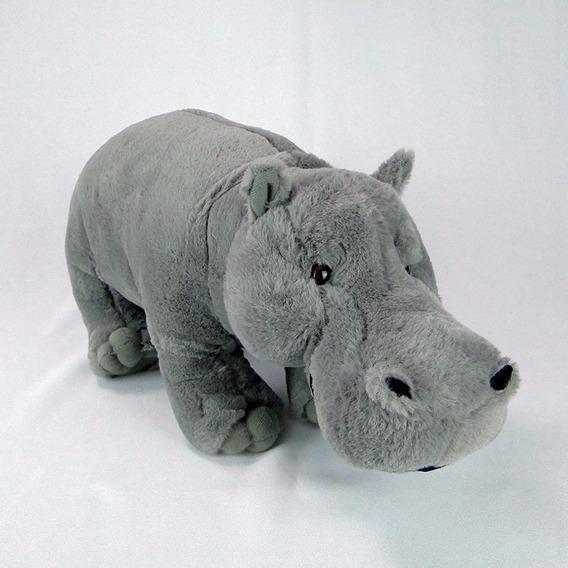 Hipopótamo De Pelúcia 40cm - Maravilhoso!!!