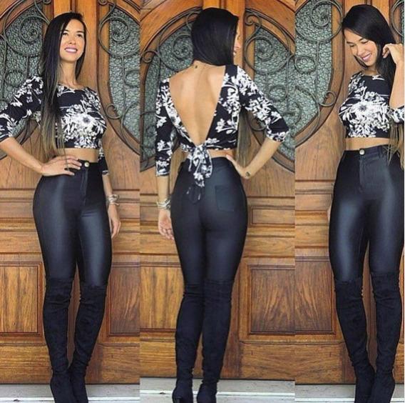 Calça Cirrê Pants Bolso Traseiro Lançamento 2017 Promoçao