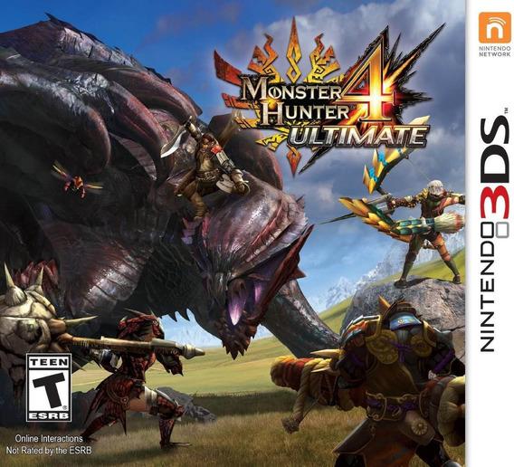 Monster Hunter 4 Ultimate Nintendo 3ds Eshop Codigo
