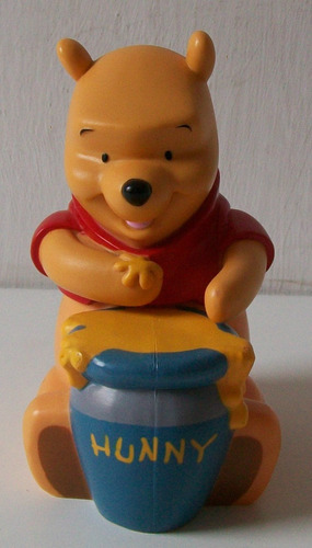 Imagen 1 de 4 de Bonita Botella De Shampoo Vacia  Winnie Pooh