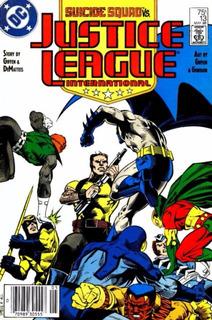Justice League Int. Vol 1 #13 (1988), Dc Usa, En Inglés