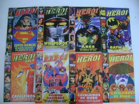 Revistas Herói E Herói Gold Nºs 11-19-21-28-34-36-51-53
