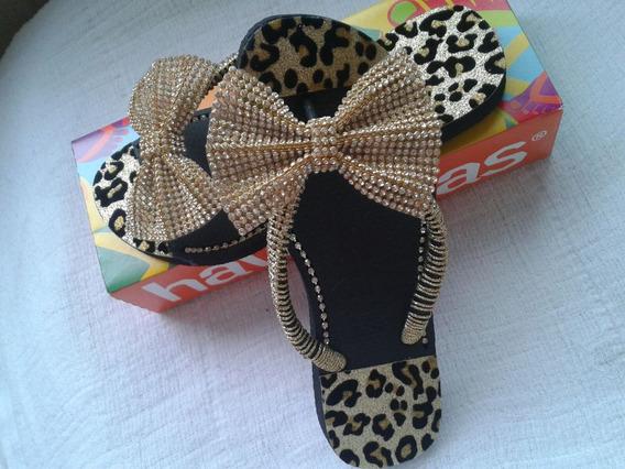 Sandalias Femininas Customizada