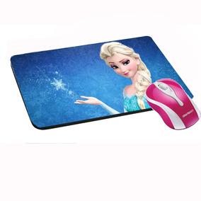 Mouse Pad Envie Sua Imagem Frozen
