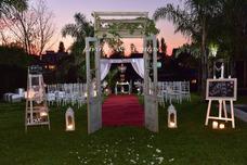 Ceremonia Altar Boda Wedding Casamientos Ambientacion Puerta