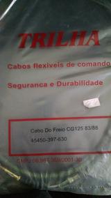 Cabo Freio Cg 125 83/88 - Trilha