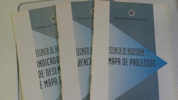 Técnicas De Auditoria Tcu - 3 Volumes