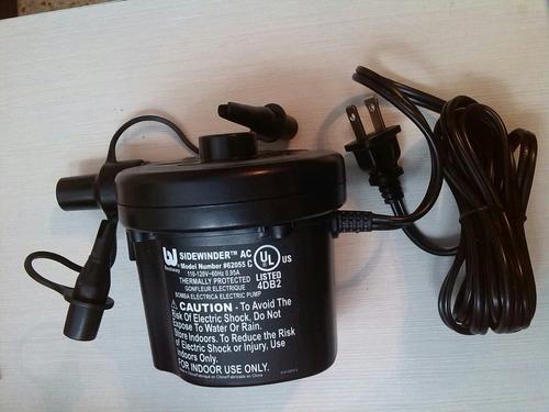 Bomba Compresor Electrico Inflar Colchones Desinflar