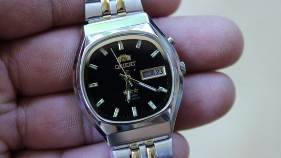 Relógio Orent Automático Cristal Novinho Japan