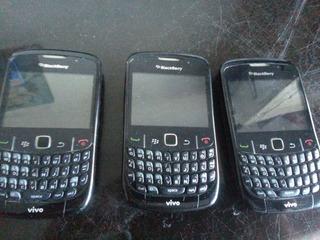Smartphone Blackberry Curve 8520 3g Wifi Por 40,00 Cada