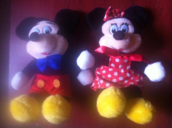 Pelúcia Disney Mickey E Minie Importado Ac Trocas