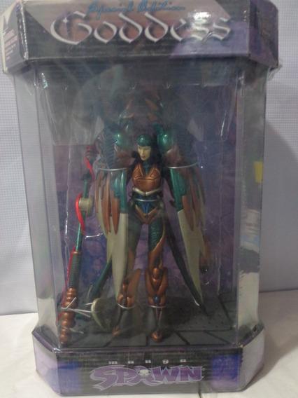 Manga Spawn Goddess Edicion Especial Caja De Acrilico