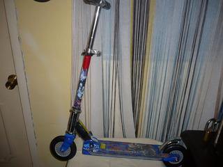 Monopatín Scooter Transformer Con Detalle.