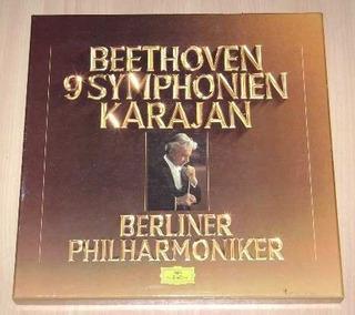 Beethoven 9 Symponies Karajan 8lp
