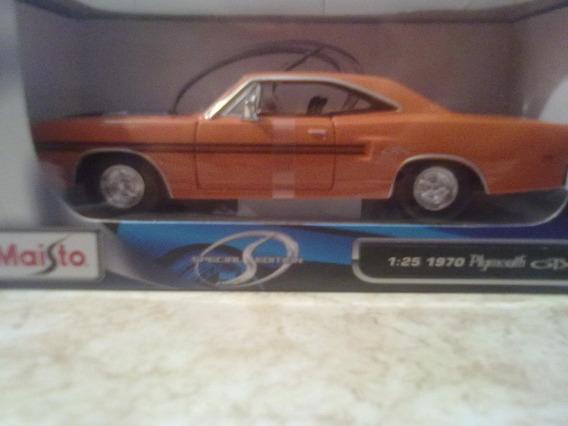 Icp Carro Coleccion 1970 Phymouth Otx Escala 1.24 Maisto