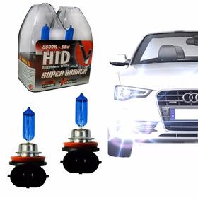 Par Lampada Super Branca Tipo Xenon H1 H3 H4 H7 H11 Hb4 Hb3