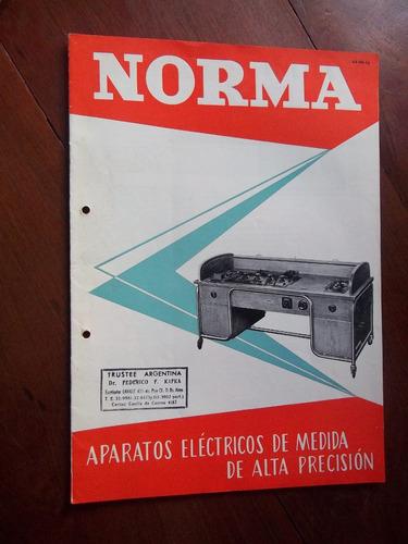 Norma Catalogo Aparatos Medicion Electrica Alta Precision