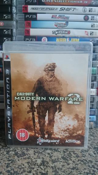 Call Of Duty Modern Warfare 2 Mw2 Ps3 Fisica-frete R$10