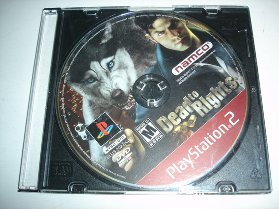 Dead To Rights Original Ps2 Só Disco Red Label