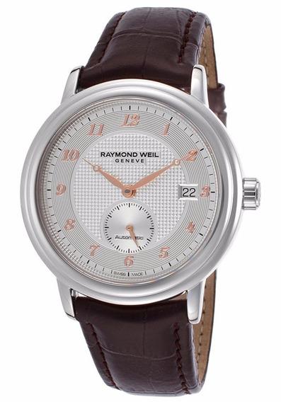 Reloj Raymond Weil Maestro Automático Piel 2838-sl5-05658