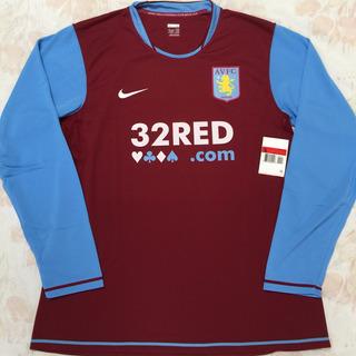263462-678 Camisa Nike Aston Villa Jogador 07/08 G Ml Fn1608