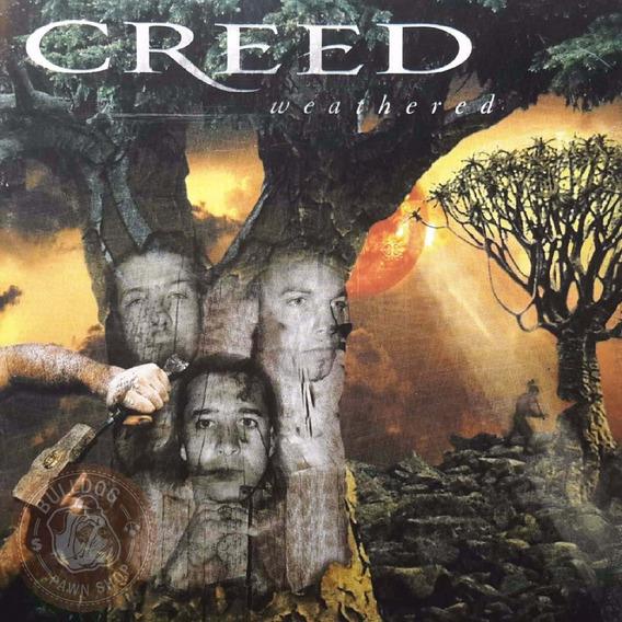 Creed Weathered Cd Novo Rock Pop Internacional
