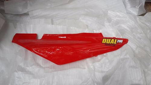 Cacha Bajo Asiento Maverick Dual 200 Roja Derecha - 2r