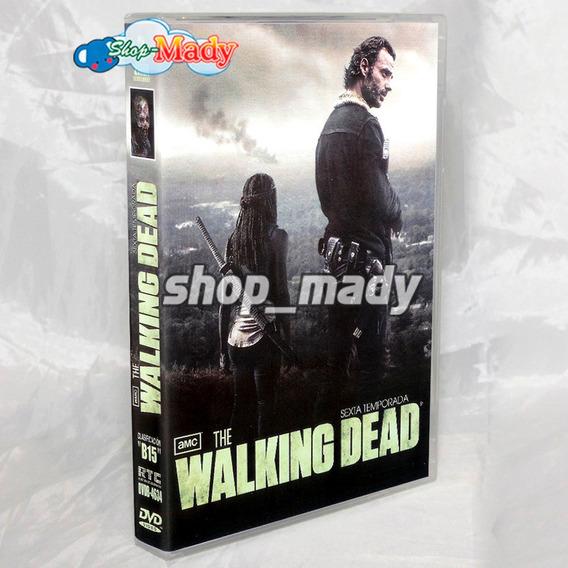 The Walking Dead Temporada 6 En Dvd Región 1 Y 4