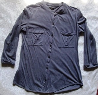 Camisa Camisola Ayres Gris Impecable