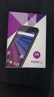 Motorola Moto G 3 - Preto - 4g - Novo Na Caixa