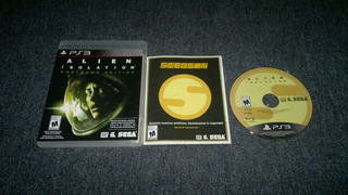 Alien Isolation Completo Para Play Station 3,excelente Titul