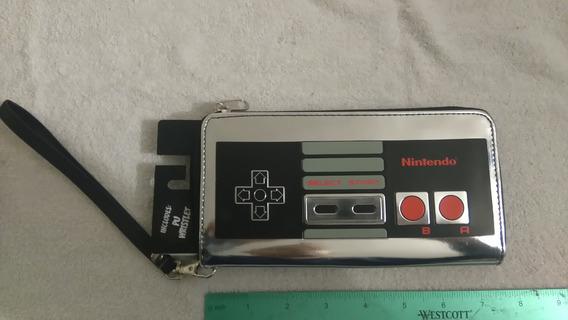 Cartera Para Mujer Control Nintendo