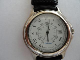 Reloj Dufour Clásico Acero Inoxidable, Sumergible.