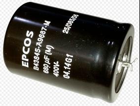 Capacitor Eletrolitico 680uf X 400v Usados E Testados