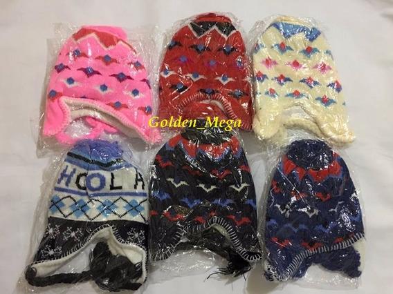 Touca Orelha- Gorro Infantil-frio Intenso-inverno-térmica