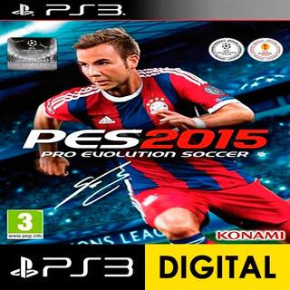 Pro Evolution Soccer Pes 2015 Digital Exclusive Bundle Ps3