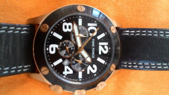 Relógio Italiano Time Force Cronosports-ouro Rosé