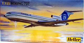 Boeing 727 Escala 1/125 Heller