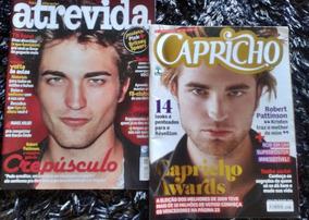 Revistas Robert Pattinson + 4 Pôsters Taylor Lautner