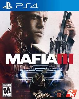 Mafia 3 Físico Ps4 Sellado Jazz Pc