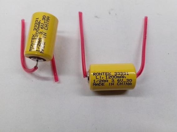 Bateria 1/2aa Não-recarregável Li 3,6v/1200mah - Rontek