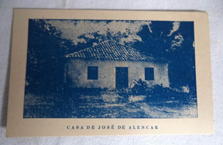 Cartão Postal Fortaleza Casa José De Alencar Ceará