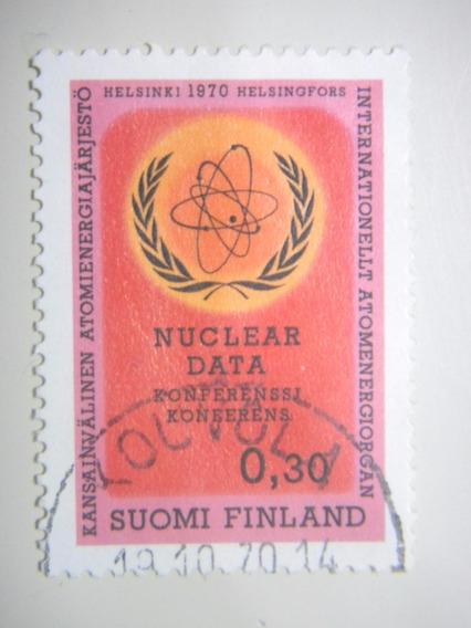 Selos Finlândia - Congresso De Dados Nucleares - 1970
