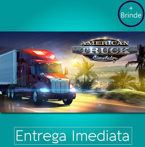 American Truck Simulator Pt-br Steam +brinde Envio Imediato!
