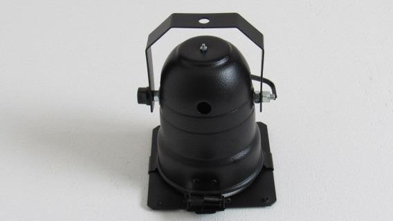 Canhão Refletor Par 30 Preto Com Soquete E-27 - 15peças
