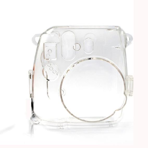 Capa / Case De Acrílico Com Alça Para Câmera Instax Mini
