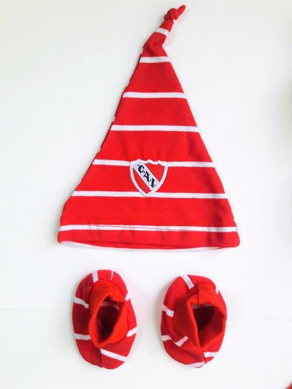 Independiente Set Bebe Gorro Y Escarpin Gorra* Prod. Oficial