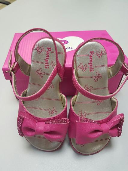 Sandália Kiss Pink Pampili