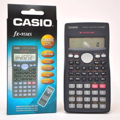 Calculadora Casio Fx-95 Cientifica -tienda Oficial